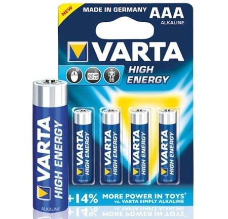 Bateria Varta High Energy AAA 1szt.